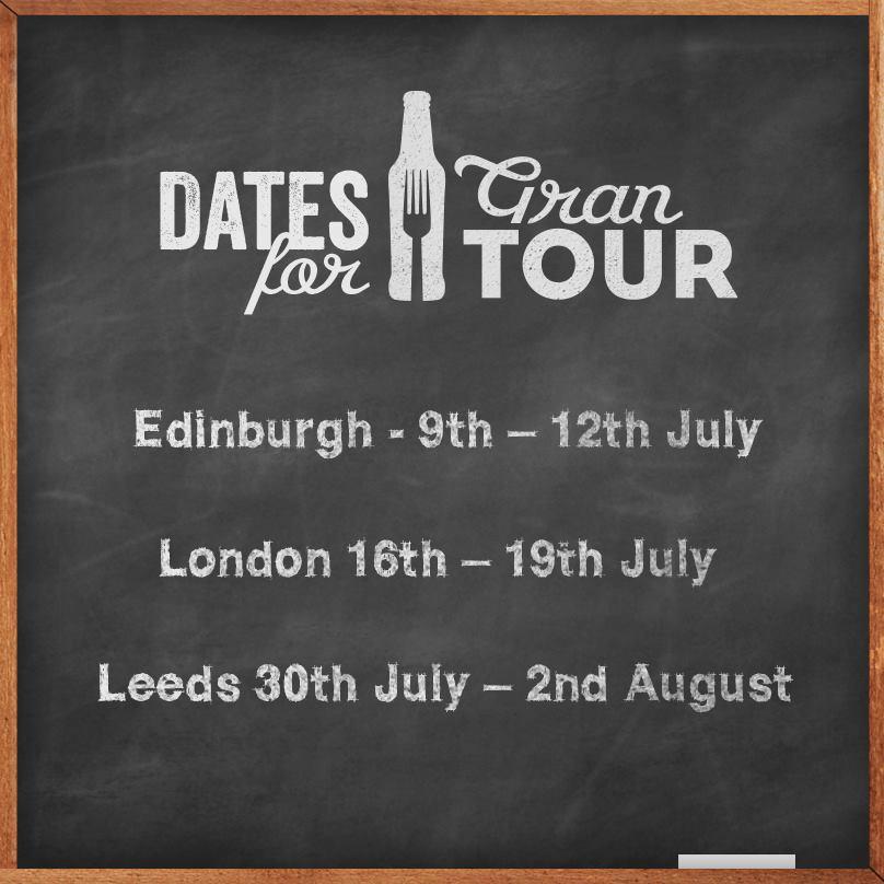 Moretti Gran Tour dates