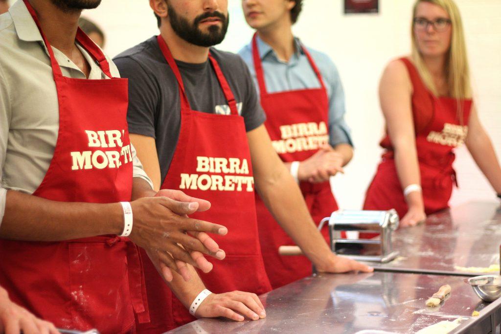 Birra Moretti Aprons
