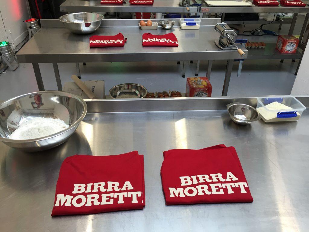 Moretti station set up