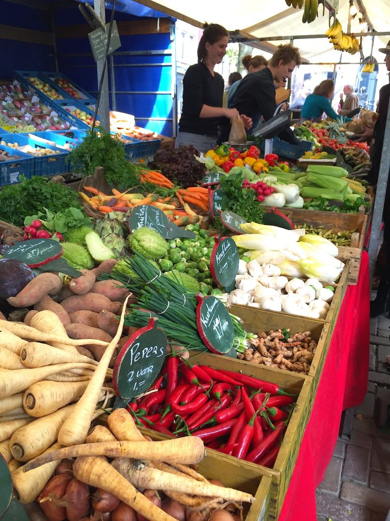 Market stall in Amsterdam