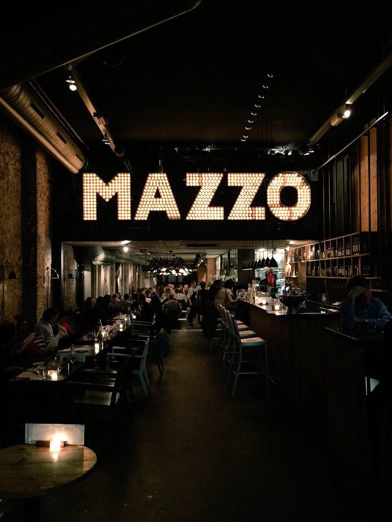 Mazza, Amsterdam, interior