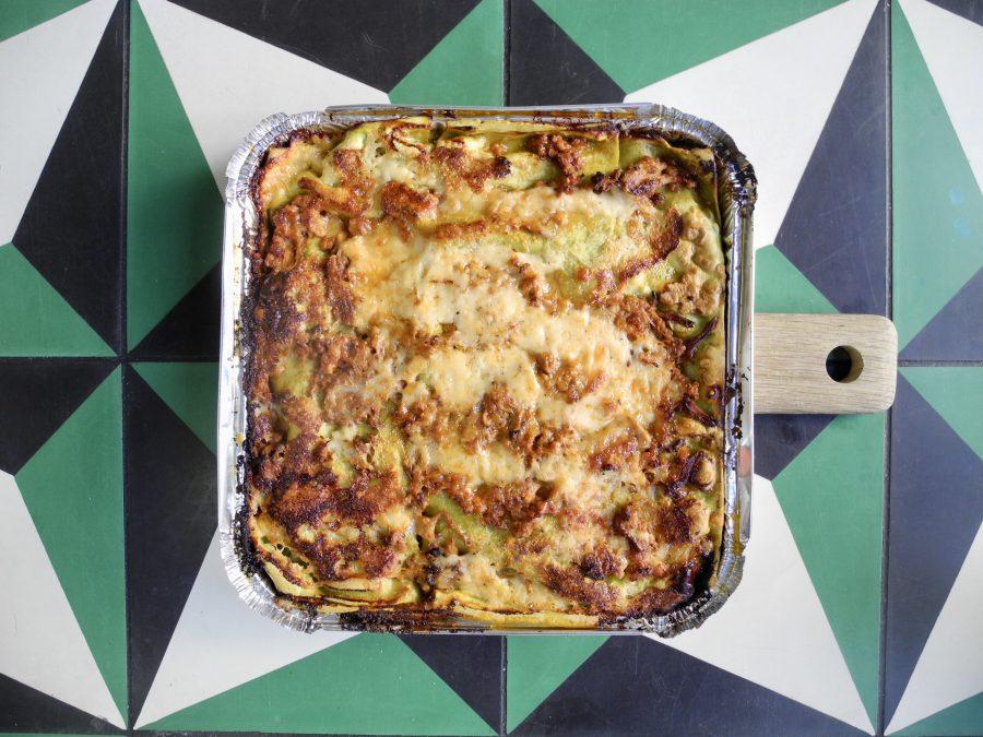 Large Lasagne Verde lamb & nduja ragu, Taleggio bechamel (meat)