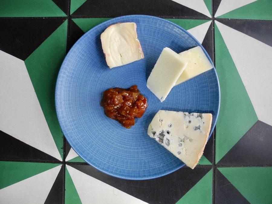 Trio of Italian & Local Cheeses