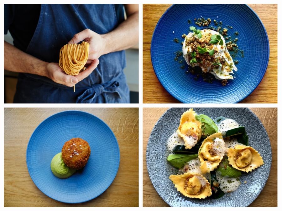 5 Course Chef's Menu - Vegetarian