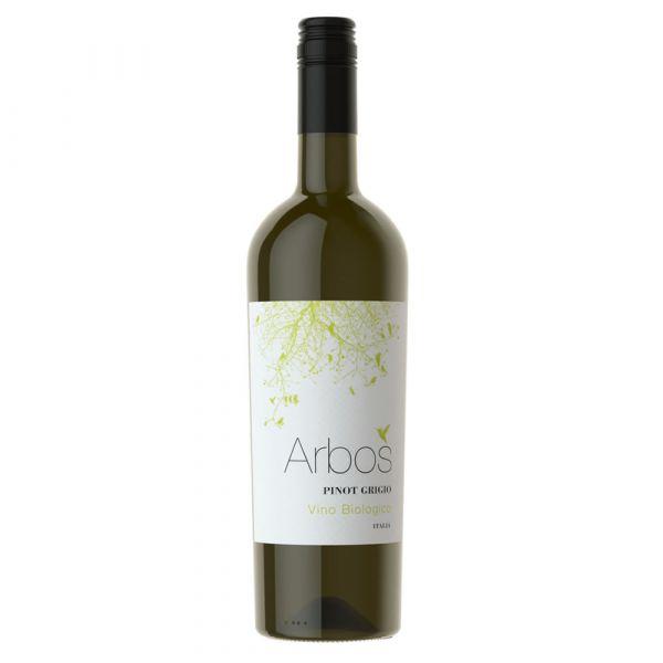 Arbos Pinot Grigio, Organic, Castellani. Sicily, Italy 2019